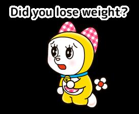 Doraemon: स्टिकर उद्धरण 9