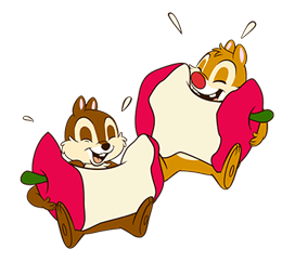 Chip 'n' Dale Stickers 9
