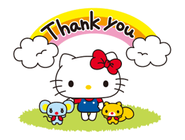 Hello Kitty: Simple and Sweet Stickres 9