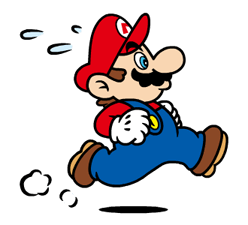 Talking Super Mario Stickers 9