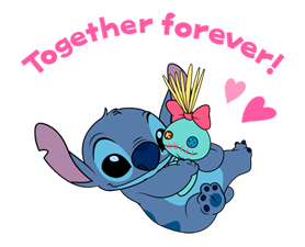 Stitch (Rowdy) Stickers 9
