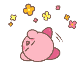 Puffball Sticker Set de Kirby 9