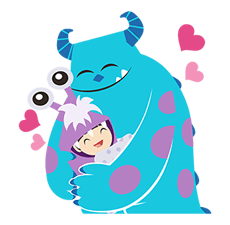 Monsters, Inc. Stickers 9