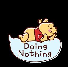 Winnie the Pooh Speech Balloons Stickers 9