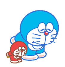 Doraemon & Dorami klistremerker 9