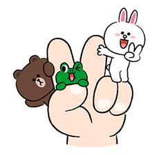 LINE Characters Fun Size Pack Stickers 9