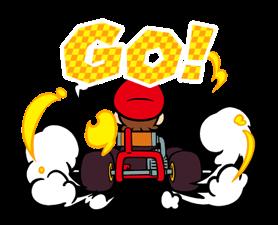Mario Kart Stickers 9
