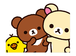 Rilakkuma: Chairoikoguma Stickers 9