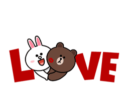 Brown & Cony lui Palpitant Data Stickere 9