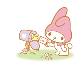 My Melody 2 Stickers 24