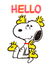 SNOOPY Stickers 22