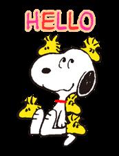Snoopy Наклейки 22