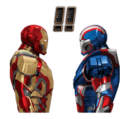 Iron Man 3 Stickers - New emojis, gif, stickers for free at