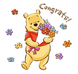 Pooh & Friends (Sunny days) Stickers