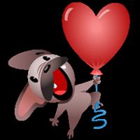 Mugsy In Love Sticker 10