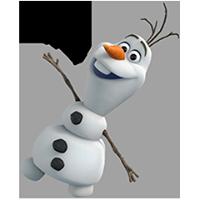 オラフ・ディズニーの冷凍ステッカー 11