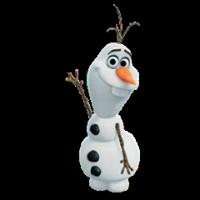 オラフ・ディズニーの冷凍ステッカー 13