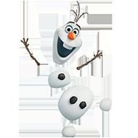 オラフ・ディズニーの冷凍ステッカー 16