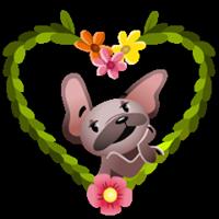 Mugsy In Love Sticker 1