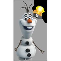 オラフ・ディズニーの冷凍ステッカー 19