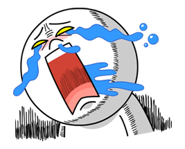 Moon Mad Angry Stickers 2