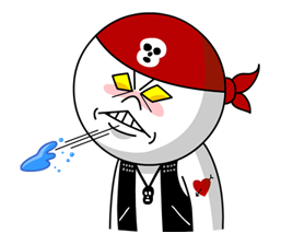 Moon Mad Angry Stickers 32