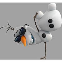 オラフ・ディズニーの冷凍ステッカー 24