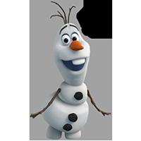 オラフ・ディズニーの冷凍ステッカー 26
