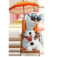 オラフ・ディズニーの冷凍ステッカー 27