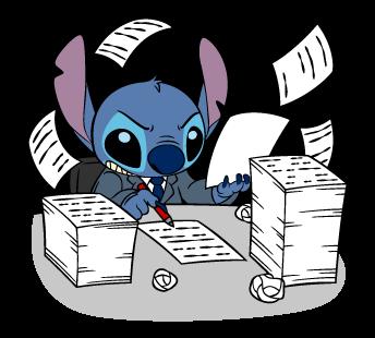 Stitch Stickers 34