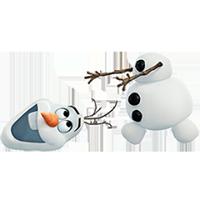 オラフ・ディズニーの冷凍ステッカー 29