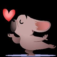 Mugsy In Love Sticker 3