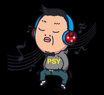 Psy Gangnam Style Stickers 35