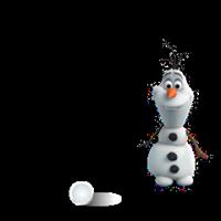 オラフ・ディズニーの冷凍ステッカー 5