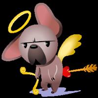 Mugsy In Love Sticker 5