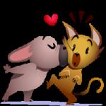 Mugsy In Love Sticker 6