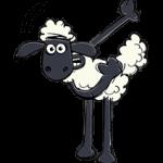 小羊肖恩贴纸 4