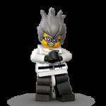 Lego figurica naljepnica 5