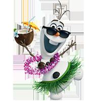 オラフ・ディズニーの冷凍ステッカー 9