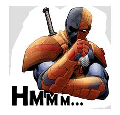 DC Comics Super-Villains Sticker 6