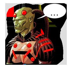 DC Comics Super-Villains Sticker 11