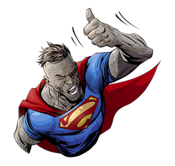 DC Comics Super-Villains Sticker 13