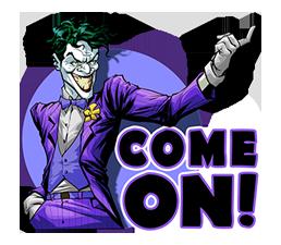 DC Comics Super-Villains Sticker 17