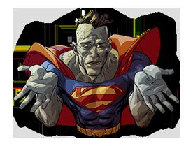 DC Comics Super-Villains Sticker 31