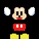 디즈니 8 비트 스티커 1
