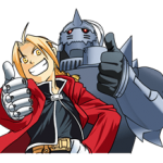 Fullmetal Alchemist αυτοκόλλητο 2