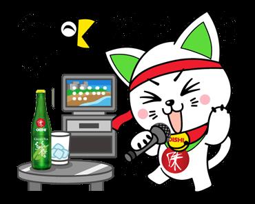 Oishi Neko Abțibilduri 10