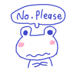 Small Frog Kero Sticker 3