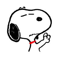snoopy ਸਟਿੱਕਰ 7