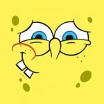 Spongebob наклейки 3